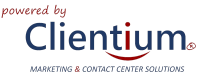 Clientium – Marketing & Contact Center Solutions Logo